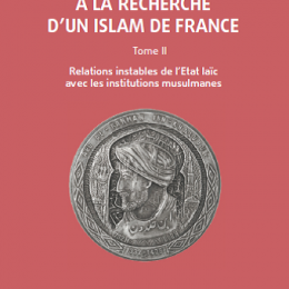 A la recherche d'un Islam de France Tome 2. Relations instables de l'Etat laïc avec les institutions musulmanes